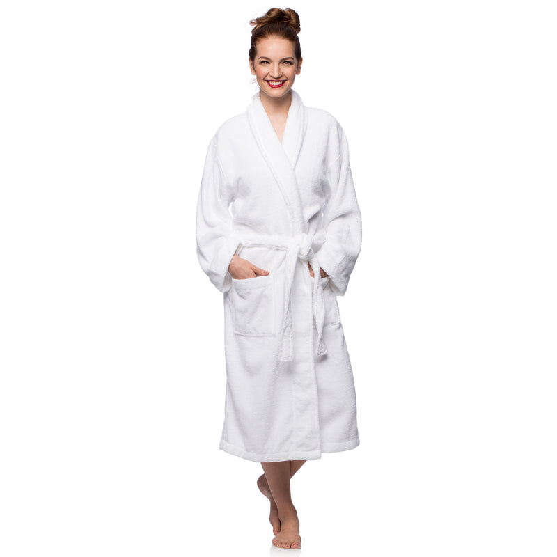 Cheer Collection Terry Robe - Assorted Colors and Sizes