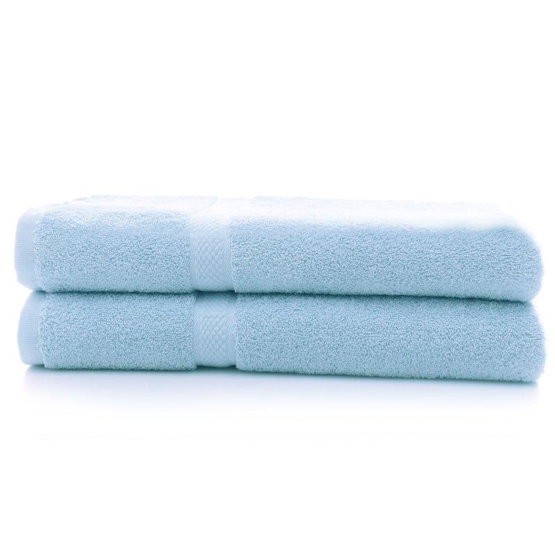 Cheer Collection 650 GSM Bath Towel (Set of 2) - Assorted Colors