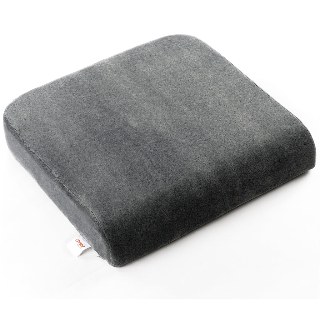 Cheer Collection Memory Foam Extra-Large Seat Cushion