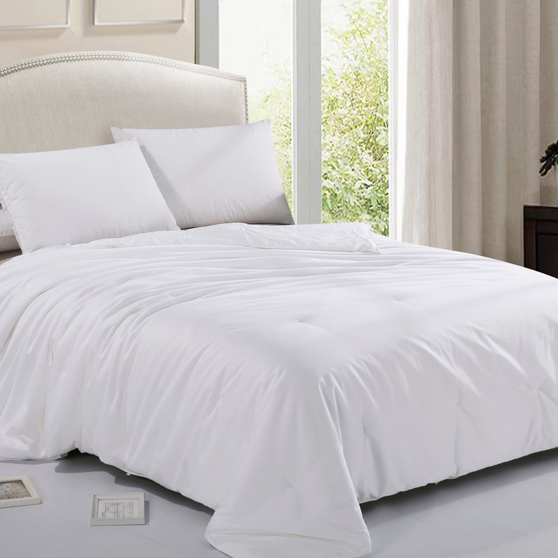 Cheer Collection 100% Mulberry Silk Comforter, Ultra High End All Season Luxury Comforter and Duvet
