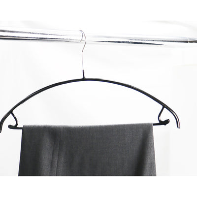 "Metal Non-Slip - 16 1/4"" Euro Top and Bottom Hanger"