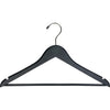 "17"" Wooden Suit Hanger with Locking Bar"