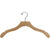 "17"" Wavy Wooden Top Hanger"