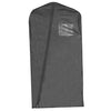 "24"" x 46"", 3.75 Gauge Vinyl Taffeta Finish w/ Window/Card Pocket and Diagonal Zipper"