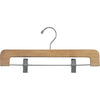 "14"" Rounded Wooden Bottom Hangers"