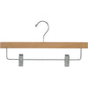 "14"" Rubber Coated Wooden Bottom Hangers"