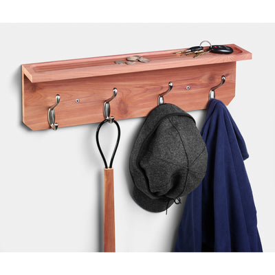 Apparel Rack with Shelf