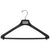 "AT - 19"" Suit Hanger with Flocked Bar"
