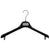 "ELL - 16.5"" Black Jacket Hanger"
