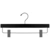 "14"" Black Wooden Skirt or Pant Hanger"