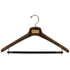 "SAR - 17"" Suit Hanger with Flocked Bar"
