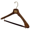 "SAR - 18"" Suit Hanger with Flocked Bar"