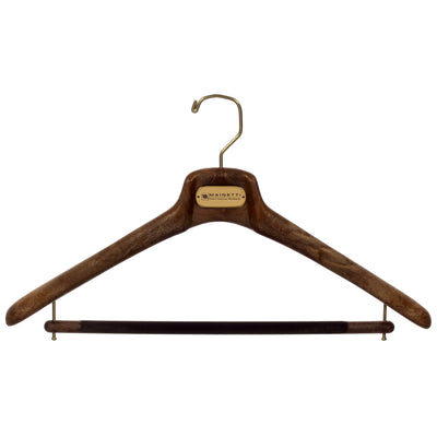 "SAR - 19"" Suit Hanger with Flocked Bar"