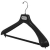 "SV - 19"" Suit Hanger with Flocked Bar"