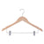 "17"" Premium Wooden Top and Bottom Hanger"