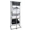 3 Roll Polybag Horizontal Dispensing Rack - Square Tubing