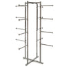 Folding Lingerie Tower - Square Tubing w/ Round Tubing Arms