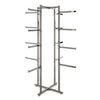 Folding Lingerie Tower - Square Tubing w/ Rectangular Tubular Arms