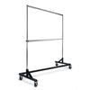 Economy Z-Rack with Black Base - Includes Add-On Bar