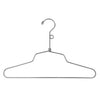 "12"" Steel Blouse and Dress Hanger w/ Loop Hook"