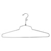 "16"" Steel Blouse and Dress Hanger w/ Loop Hook"