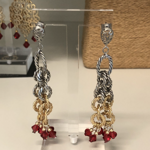 Private Dancer Crystal Earrings