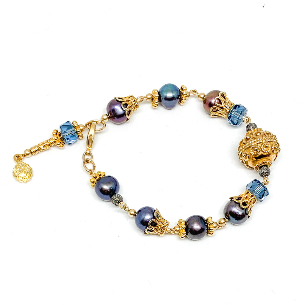 Charming Adornment Vermeil Bracelet