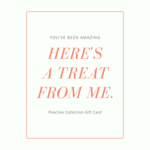 Peachee Collection Gift Cards