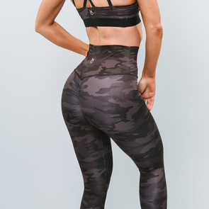 Dark Camo Compression Leggings