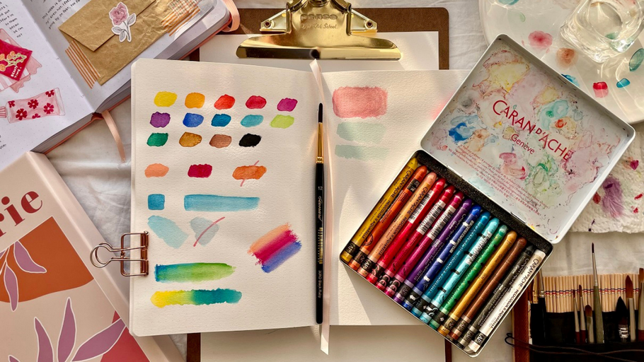 Easy Watercoloring Paints for Beginners