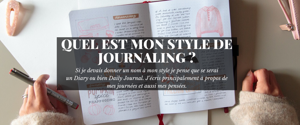 Question : Quel est ton style de Journaling ?