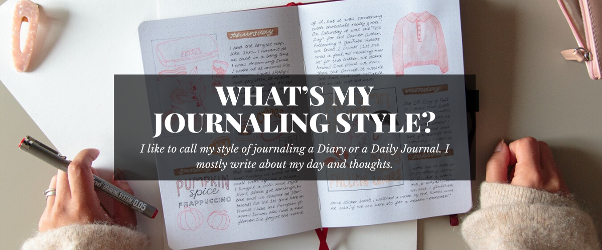 WHAT'S MY JOURNALING STYLE?