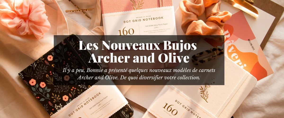 Carnet Archer and Olive France