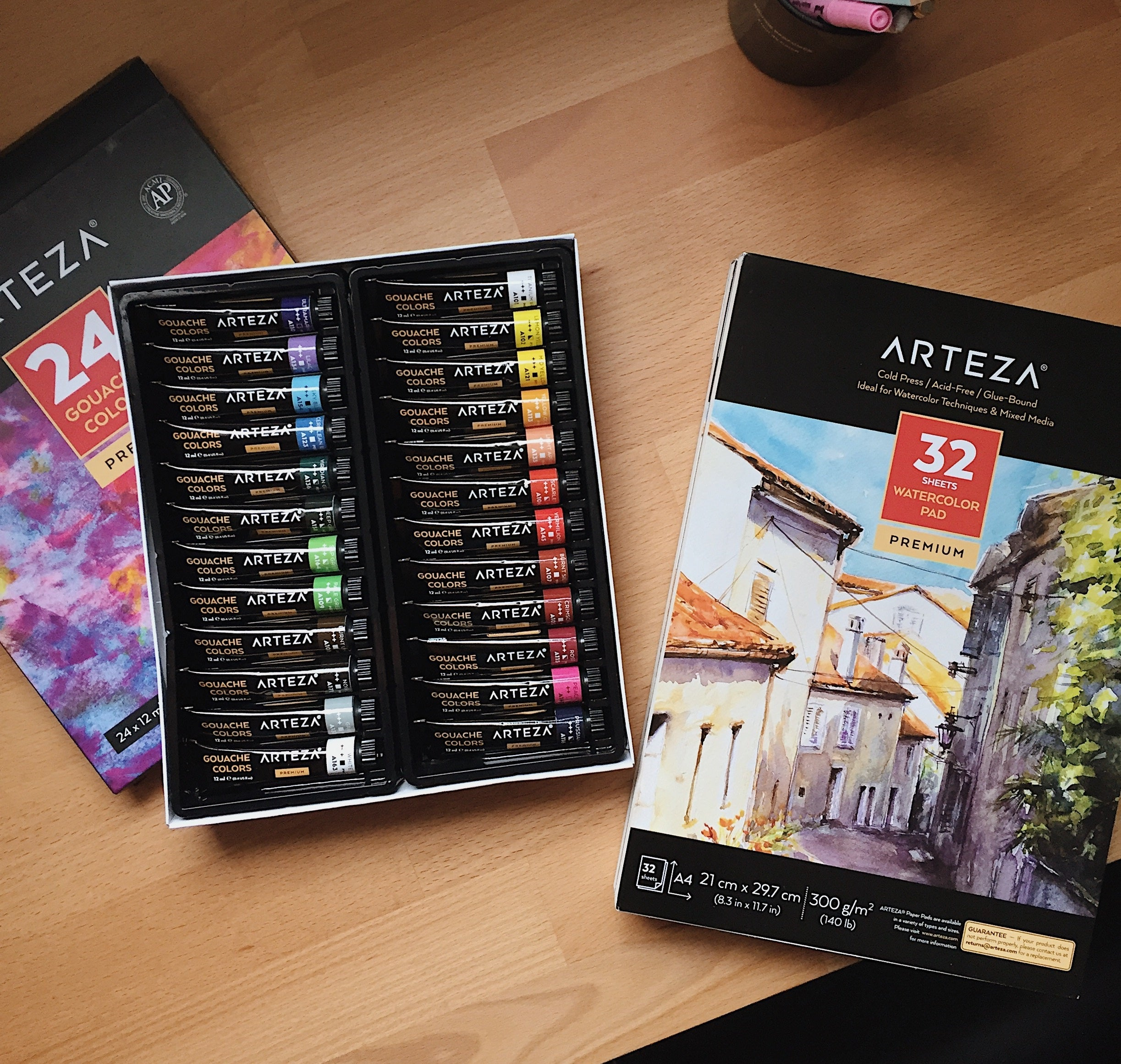 Arteza Gouache Review
