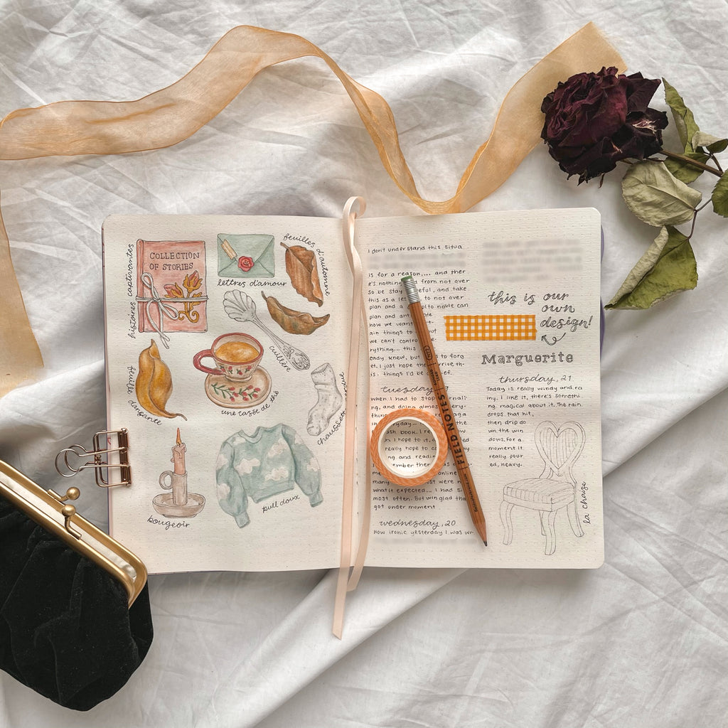 Mellow Days Rêverie Bullet Journal Pages