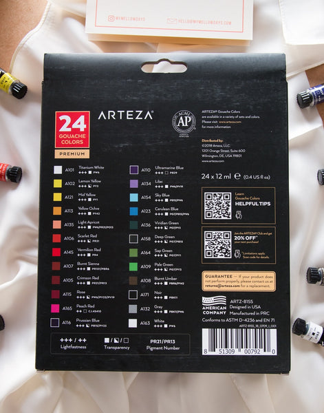 Arteza Gouche Review