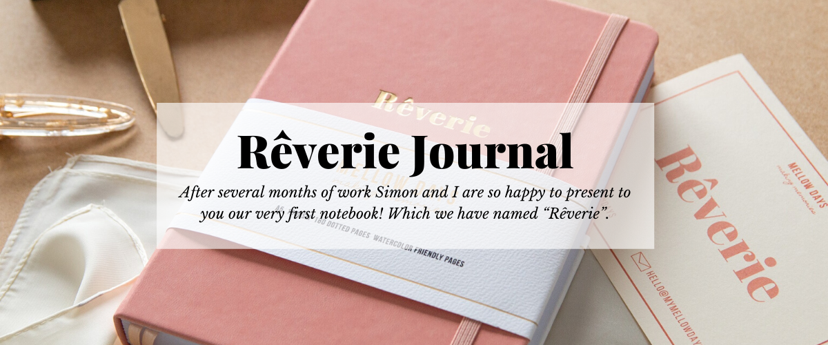 Rêverie Journal, a bullet journal for the artists. 180 gsm with no ghosting.