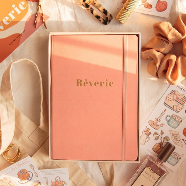 A5 Bullet Journal Rêverie watercolor bujo 160gsm Coral Pink