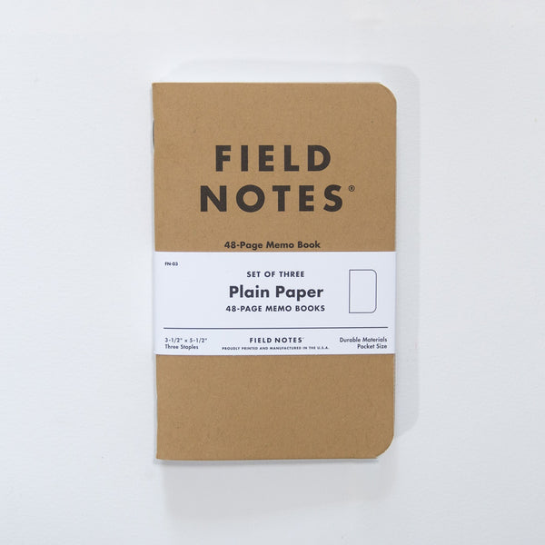 Field Notes - Original Kraft Memo