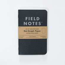Field Notes Dot Graph Memo Notebook, Set of Three