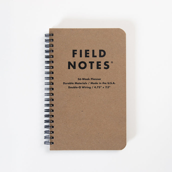Field Notes - Planner 56 Semaines