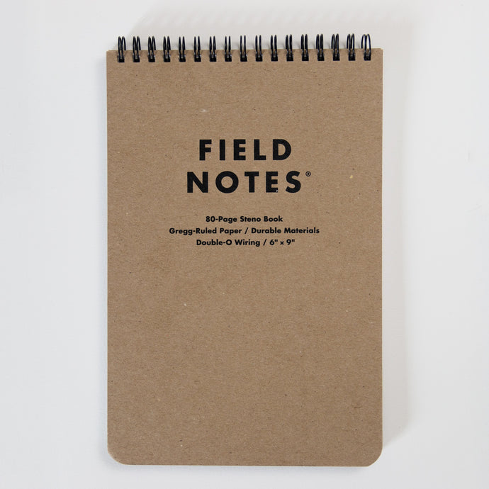 Field Notes Steno Ruled Notebook