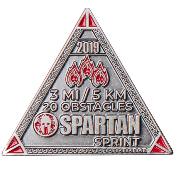 SPARTAN 2019 Sprint Delta Icon