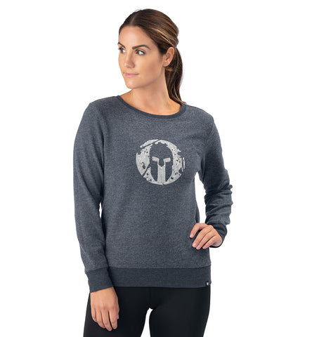 SPARTAN '47 Throwback Fleece Crew - Women's