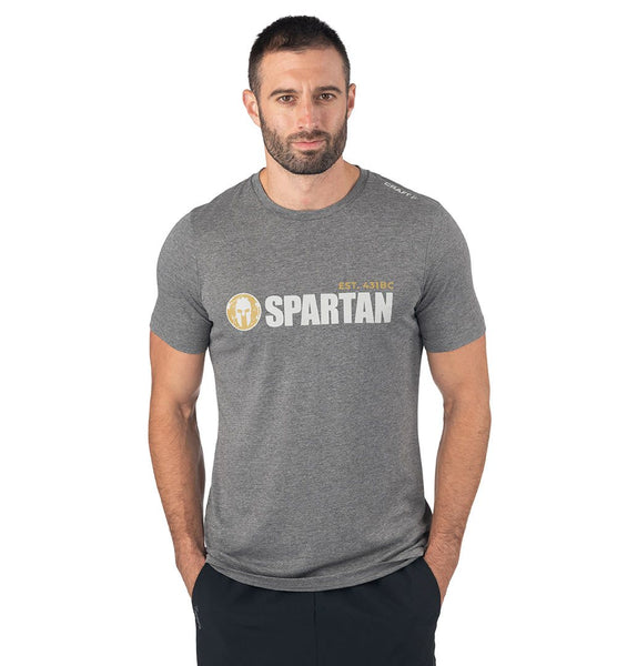 SPARTAN by CRAFT Classic Logo Tri-Blend Tee