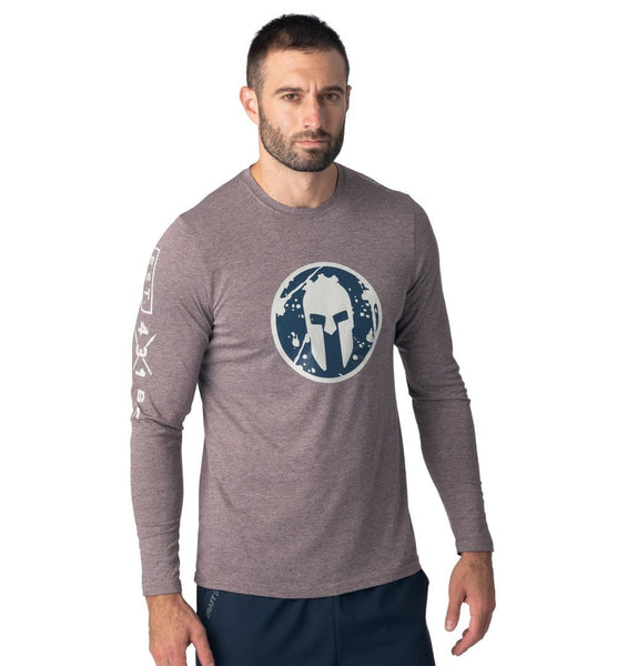 SPARTAN by CRAFT Helmet Logo LS Tee - Men's