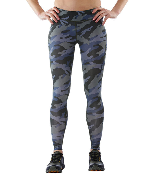 CRAFT SPARTAN By CRAFT Pro Series Compression Tight - Women's Woods/Camo XS