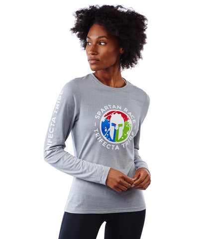 SPARTAN by CRAFT Trifecta Tri-Blend LS Tee - Women's