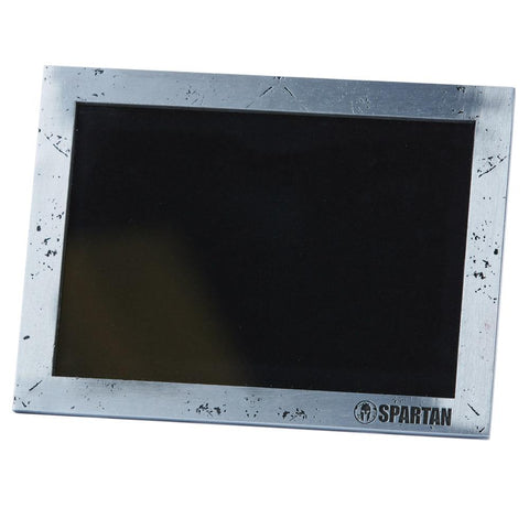 SPARTAN Hammered Silver Picture Frame
