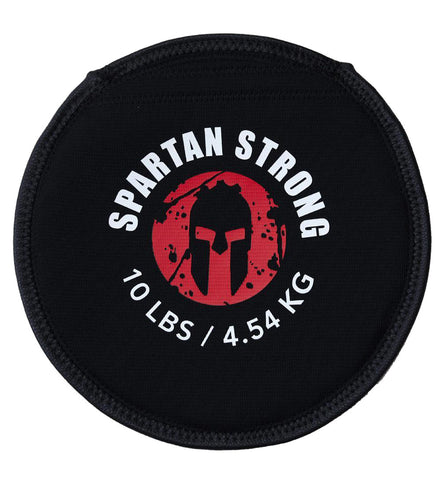 SPARTAN Strong Pancake Sandbag - 10lb (10 Pack)
